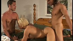 Dick-yearning wife gives into temptation and fucks a stranger