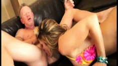 Kristal Summers reveals her oral abilities and then gets nailed hard