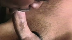 Muscular gym freaks take a break to get nasty with each other